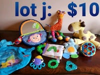 Infant toy lot. Selling together. Will not separate  Omaha, 68154
