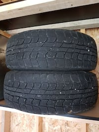 two black rubber tires Mississauga, M9W