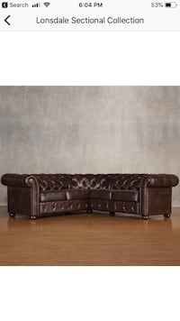 Lonsdale sectional sofa BRAND NEW MUST GO ASAP Washington, 20011
