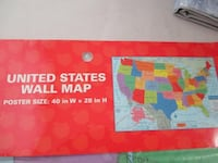 United States of America (USA) map (brand new) Montréal