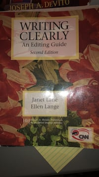 """""""Writing Clearly- Editing Guide"""" San Mateo, 94401"""