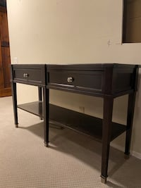 Bassett sofa table