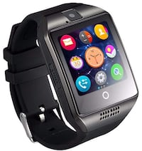 Bluetooth Smart Watch Touchscreen with Camera Unlocked Watch6S (Black) Piscataway, 08854