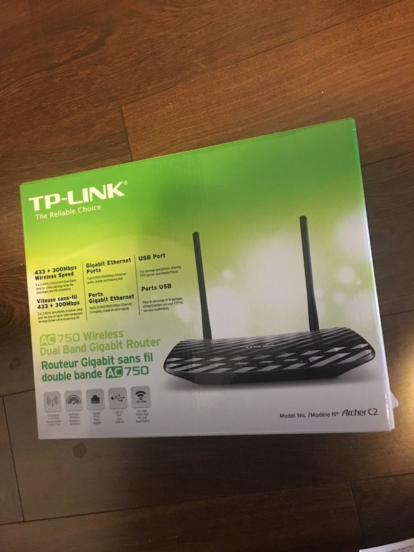 Tp link router open box