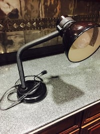 Used Tiffany Style Lamp Bronzed And Cream For Sale In Bay