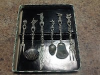 """6 Piece """"Candlelight Silver"""" from Florence Italy. The Nation / La Nation, K0A 2M0"""