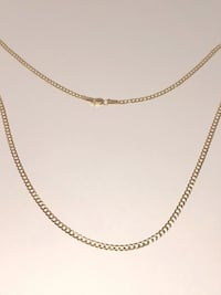 10k Yellow Gold Star Chain Burnaby