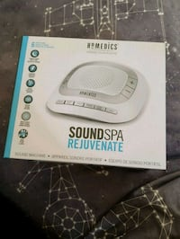 HoMedics SoundSpa Sound Machine Vancouver, V6Z 1M7