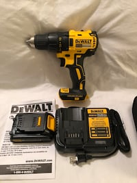 Brand new never used DeWalt 20V brushless drink driver tool kit. Comes with tool bag  Vacaville, 95687