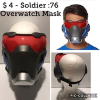 $4 New  Kids Soldier :76 Mask Overwatch Chicago