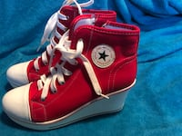 Look a like Converse high top wedges never worn $15 Kansas City, 66102