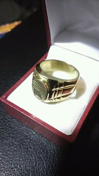 Men gold ring 18k