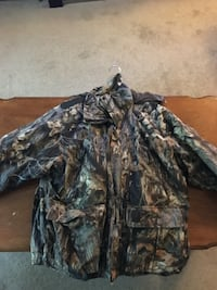 Black and brown camouflage jacket Penn, 17545