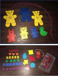 2 sets of Fine motor manipulative Preschool string sets Greeley, 80634
