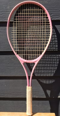 Ace zebest pink and white tennis racket $20
