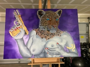 6ftx4ft Oil Painting