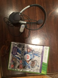Madden 2013 and Headphones for Xbox 360 Côte-Saint-Luc, H4W