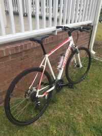 white and black hardtail mountain bike Fayetteville, 28306