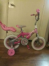 toddler's pink and white bicycle with training whe Oceanside, 92056