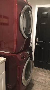 Electric Samsung washer and dryer