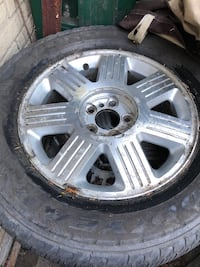 4 tiers with rim all season in excellent condition no rust just need to be wiped  Hamilton, L9C