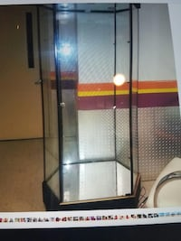 clear glass curio cabinet New York, 11422