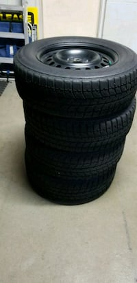 4 winter tires Bridgestone bilzzaks 5 bolt pattern Mississauga, L5N 6P5