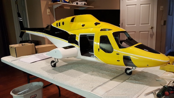 ROBAN BELL 222 800 SIZE RC HELICOPTER