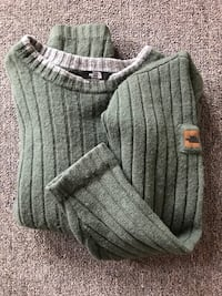 North face  wool sweater med. Edmonds