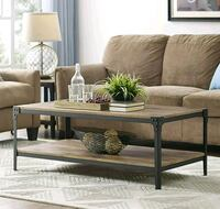 brown wooden coffee table  Burnaby, V5C 1W5