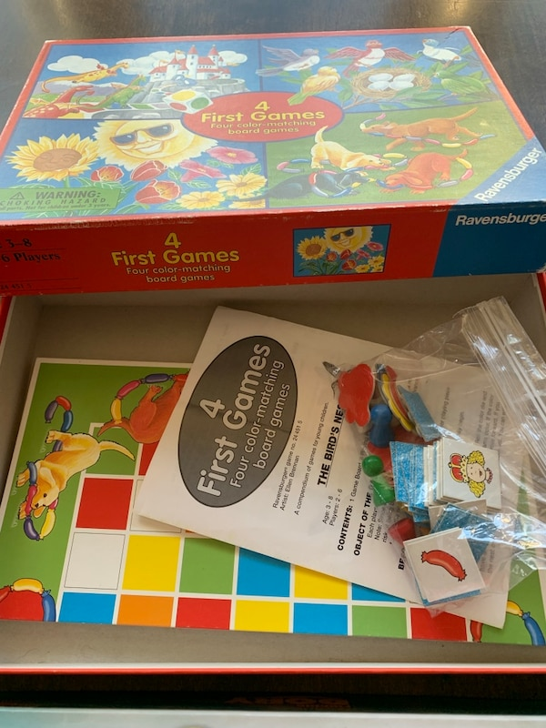 Board Games ages 3+ 1