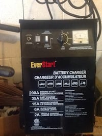Black Battery charger and start brand new Vaughan, L6A 3H2