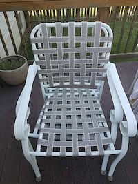 two woven white and grey armchairs Fredericksburg, 22407