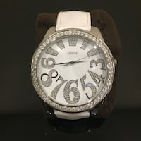 Guess watch (white with crystals) Laval