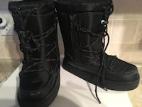 ALDO black winter boots size 6 Oakville