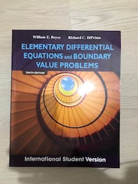Elementary differential equations and boundary value problems 8431 km