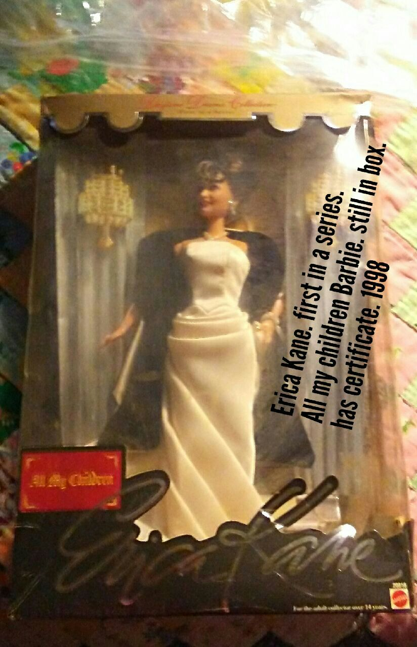 Erica Kane doll in box, used for sale  Choctaw