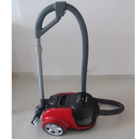 red and black canister vacuum cleaner Singapore