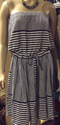 Lacoste black & white tube summer dress Calgary, T2J 1V5