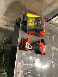 Milwaukee impact, battery and charger