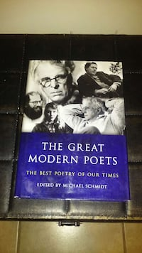 The Great Modern Poets edited by Michael Schmidt Chicago, 60637