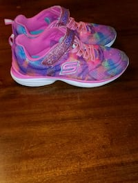 Skechers pink-and-blue running shoes Ladson, 29456