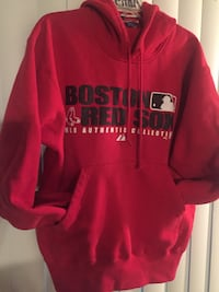 red and white Pink by Victoria's Secret hoodie Seabrook, 77586