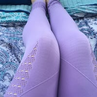 Lavender purple gym shark leggings Edmonton, T5L 4C9
