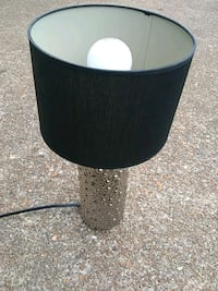 black and silver desk lamp St. Louis, 63146