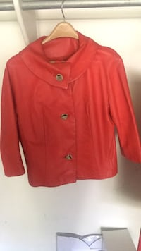 red button-up jacket Loma Linda, 92354