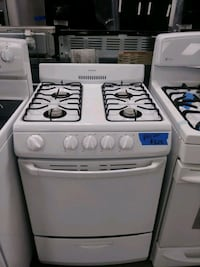 "24"" Hotpoint gas stove with warranty"