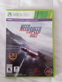 Need for Speed Rivals Xbox 360 game case Fayette, 43521