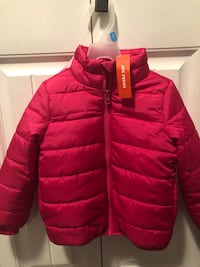Joe Fresh Toddler Girl Jacket Size 3T (Pink)  Delta, V4E 2Z5