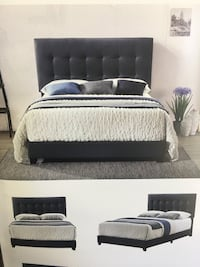 Brand new soft fabric bed frame  诺克洛斯, 30071